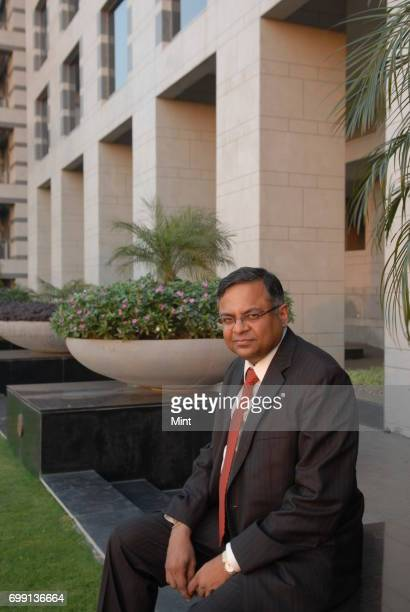 N Chandrasekaran MD CEO of Tata Consultancy Services photographed at his office in Mumbai