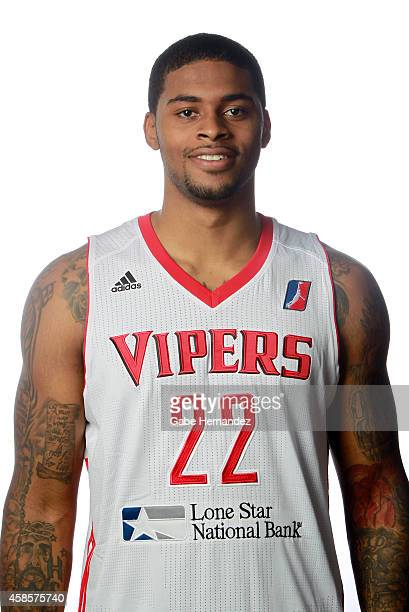 Chane Behanan of the Rio Grande Valley Vipers poses for a photos during media day on Nov 6 2014 State Farm Arena in Hidalgo Texas NOTE TO USER User...