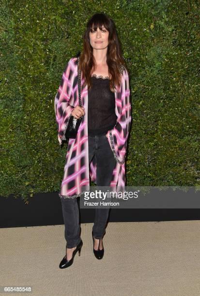Chanel Ambassador Caroline de Maigret attends the celebration of Chanel's Gabrielle Bag hosted by Caroline De Maigret and Pharrell Williams at...