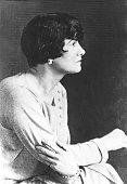Chanel Coco *19081883Modeschoepferin Frankreich Halbportrait Profilaufnahme 1929