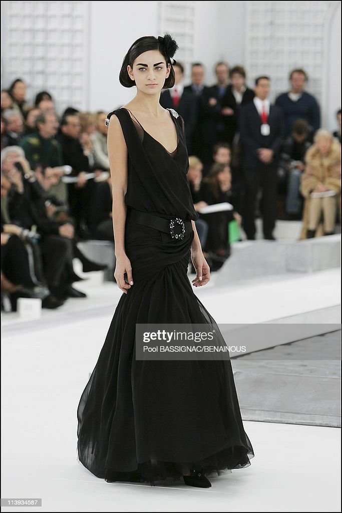 Chanel haute couture spring summer 2005 fashion show in for Couture france