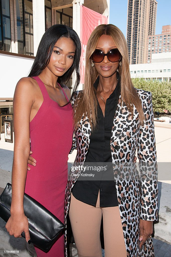 <a gi-track='captionPersonalityLinkClicked' href=/galleries/search?phrase=Chanel+Iman&family=editorial&specificpeople=2905732 ng-click='$event.stopPropagation()'>Chanel Iman</a> and Iman (r) attends 2013 Couture Council Fashion Visionary Awards at David H. Koch Theater, Lincoln Center on September 4, 2013 in New York City.