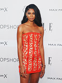 Chanel Iman arrives ahead of the ELLE Style Awards at The Mint on October 29 2015 in Sydney Australia