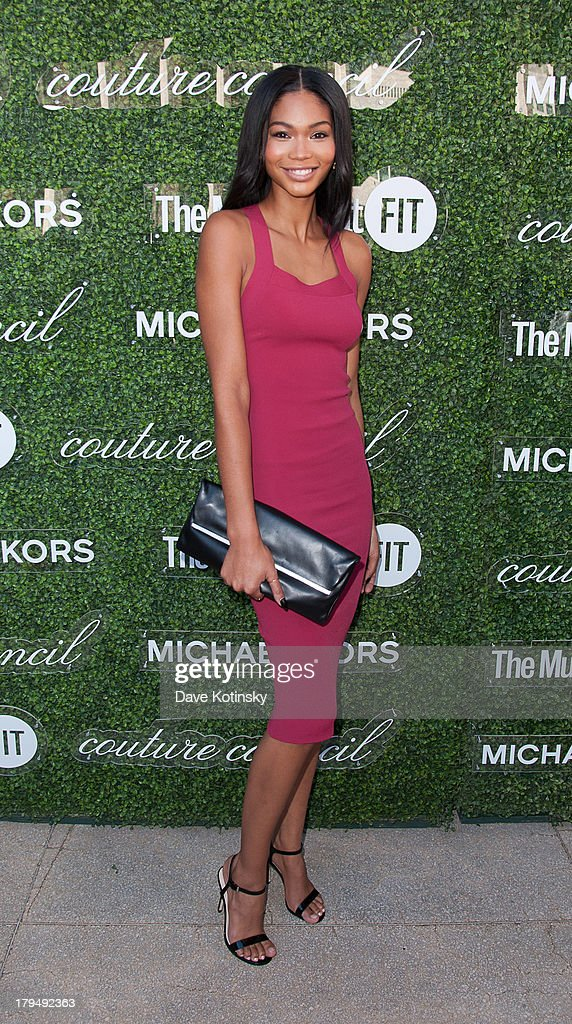 Chanel Iman attends 2013 Couture Council Fashion Visionary Awards at David H. Koch Theater, Lincoln Center on September 4, 2013 in New York City.
