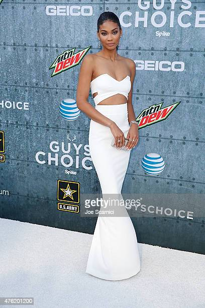 Chanel Iman attends Spike TV's 'Guys Choice 2015' at Sony Pictures Studios on June 6 2015 in Culver City California