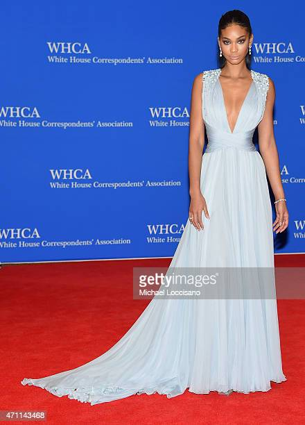Chanel Iman attends the 101st Annual White House Correspondents' Association Dinner at the Washington Hilton on April 25 2015 in Washington DC