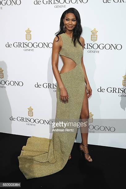Chanel Iman attends the De Grisogono Party during the annual 69th Cannes Film Festival at Hotel du CapEdenRoc on May 17 2016 in Cap d'Antibes France