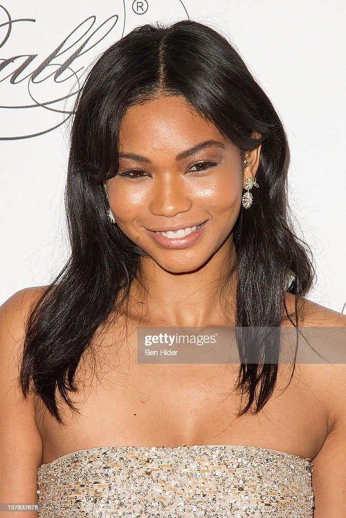 Chanel Iman attends the Keep A Child Alive's Black Ball Redux 2012 at The Apollo Theater on December 6, 2012 in New York City.