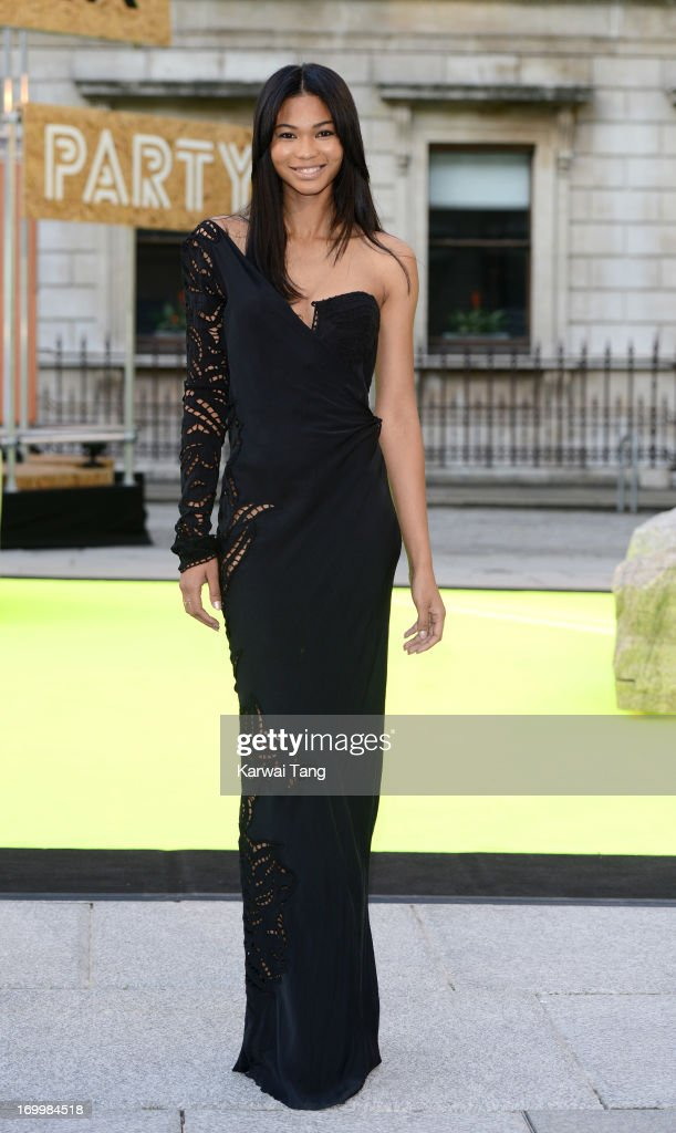 <a gi-track='captionPersonalityLinkClicked' href=/galleries/search?phrase=Chanel+Iman&family=editorial&specificpeople=2905732 ng-click='$event.stopPropagation()'>Chanel Iman</a> attends the preview party for The Royal Academy Of Arts Summer Exhibition 2013 at Royal Academy of Arts on June 5, 2013 in London, England.
