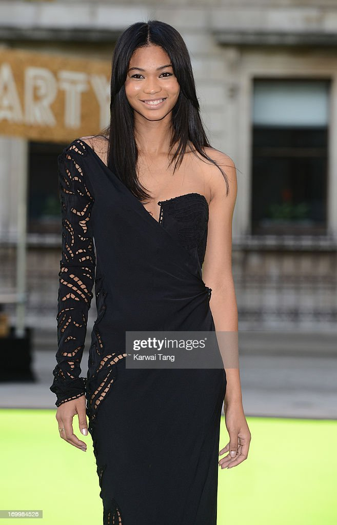 Chanel Iman attends the preview party for The Royal Academy Of Arts Summer Exhibition 2013 at Royal Academy of Arts on June 5, 2013 in London, England.