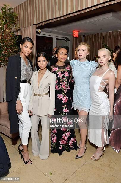 Chanel Iman Jhene Aiko Yara Shahidi Peyton List and Dove Cameron attend Harper's BAZAAR celebration of the 150 Most Fashionable Women presented by...