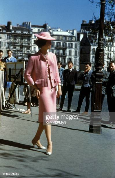 Chanel in Paris France in 1960 Chanel fashion in the sixties