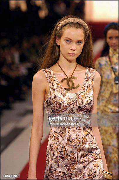 Chanel SpringSummer 2005 Readytowear Fashion show in Paris France on October 08 2004