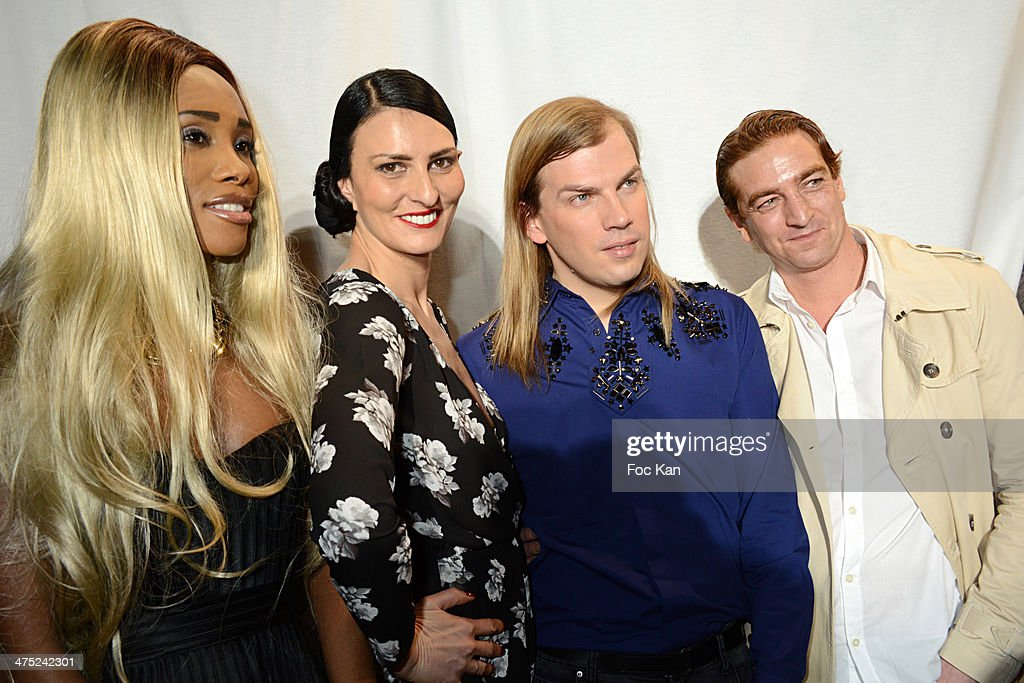 Chanel Sylvie Ortega Munoz Christophe Guillarme and Ludovic Chancelattend the Christophe Guillarme show as part of the Paris Fashion Week Womenswear...