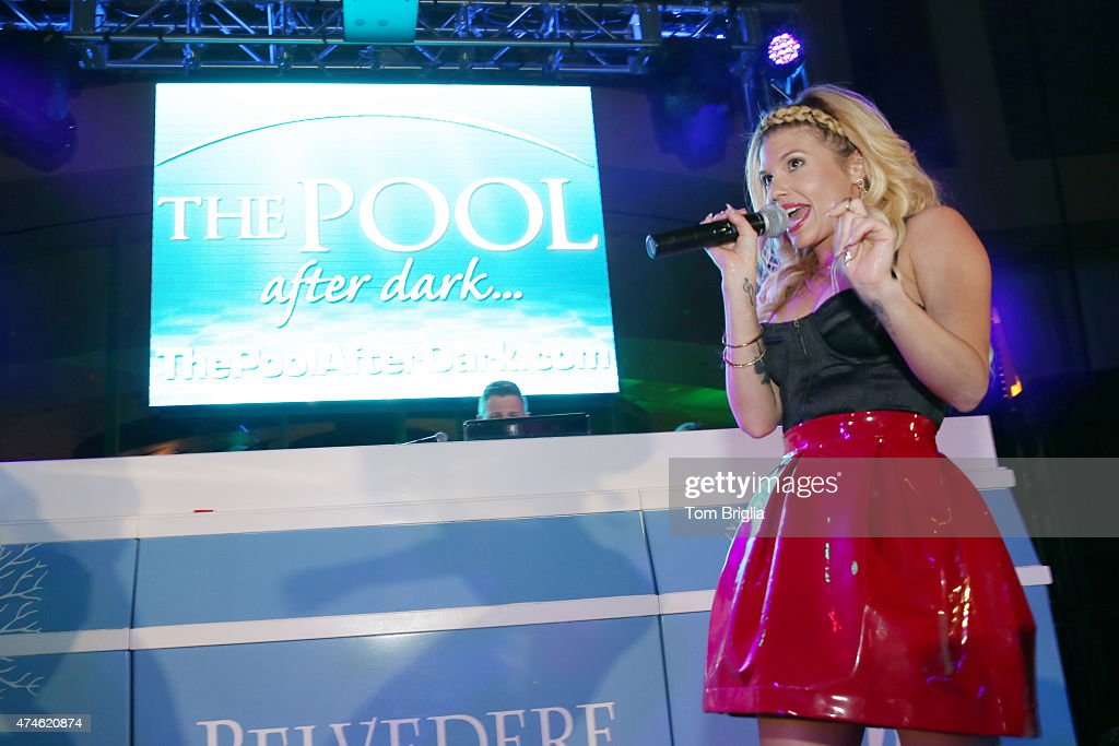 Chanel west coast performing at the pool after dark harrah for Pool show new jersey