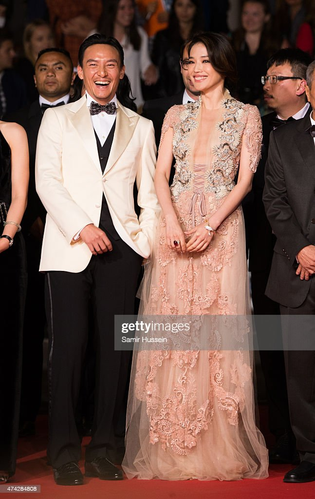 Chang Chen and Shu Qi attend the 'Nie Yinniang' Premiere during the 68th annual Cannes Film Festival on May 21 2015 in Cannes France