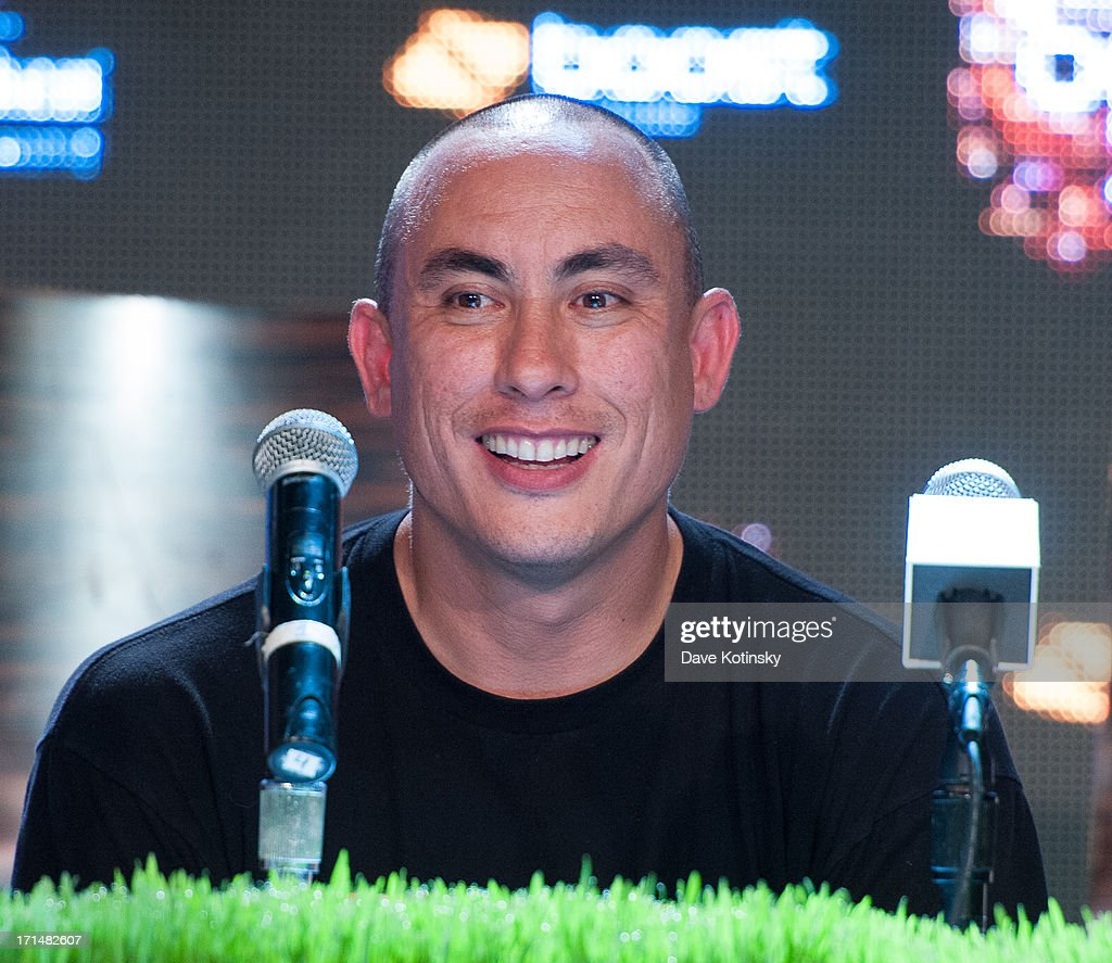 Chang Weisberg attends the Rock The Bells 2013 press conference and launch party at Highline Ballroom on June 24, 2013 in New York City.