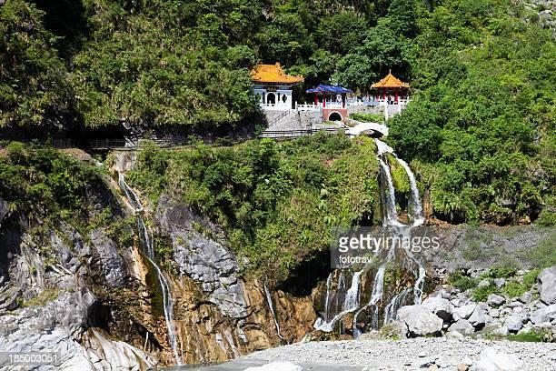 Changchun Temple in Taroko Gorges, Taiwan