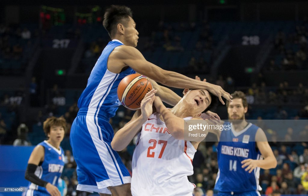 China v Hong Kong - FIBA Basketball World Cup 2019 Qualifiers