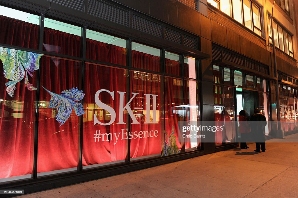 SK-II #ChangeDestiny Holiday Essence Launch Party on November 17, 2016 in New York City.