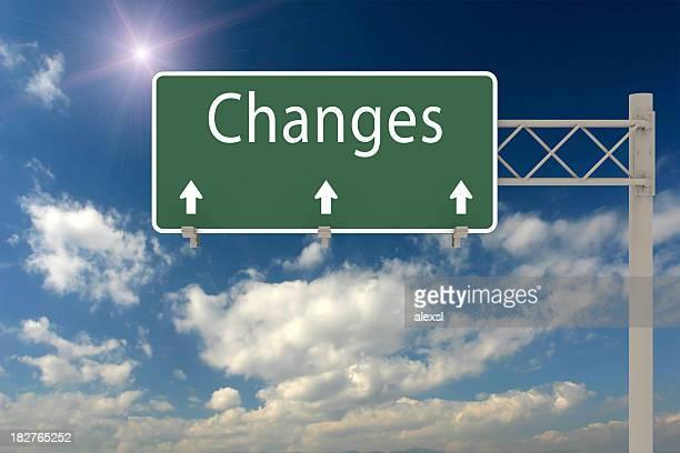 Changements à venir