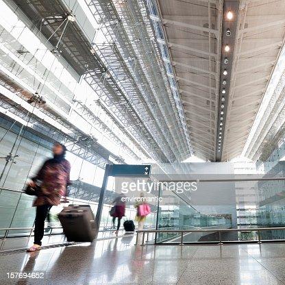 Changi Airport, Singapore.