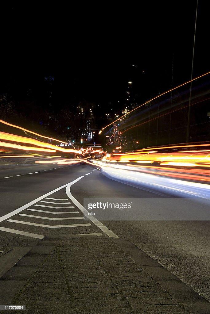 Changing lanes : Stock Photo