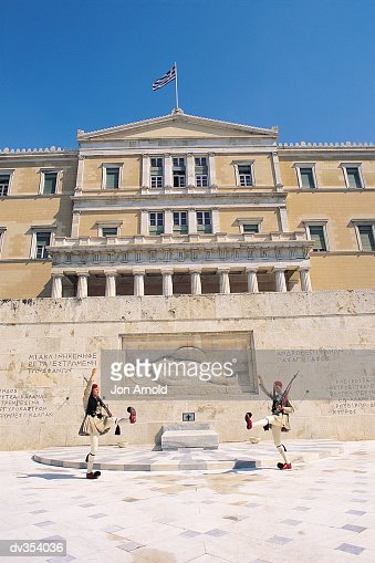 Changing of the Guard at Syntagma Square, Athens