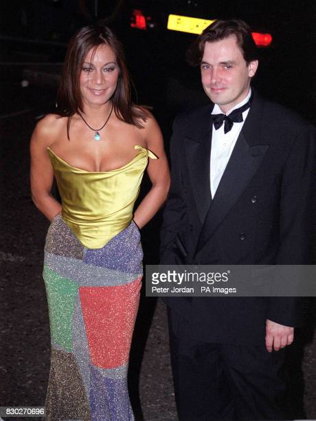 BBC Changing Rooms interior designers Anna Ryder Richardson and Graham Wynne arrive for the National Television Awards at the Royal Albert Hall