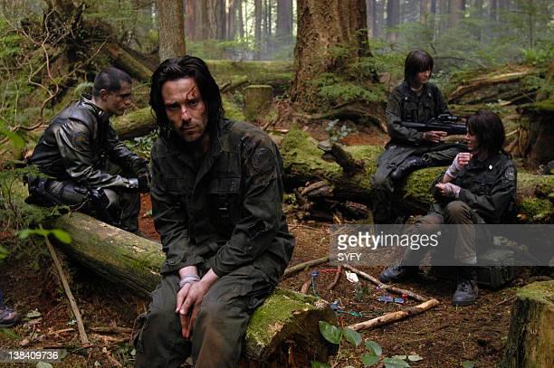 Channel 'Fragged' Episode 3 Aired Pictured Samuel Witwer as Lieutenant Alex 'Crashdown' Quartararo James Callis as Doctor Gaius Baltar Nicki Clyne as...