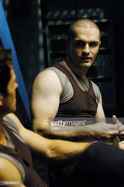 Channel 'Kobol's Last Gleaming Part 1 2' Episode 12 13 Aired 1/17/05 01/24/05 Pictured Samuel Witwer as Crashdown