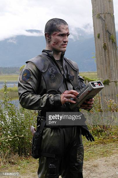 Channel 'Kobol's Last Gleaming Part 1 2' Episode 12 13 Aired 1/17/05 01/24/05 Pictured Sam Witwer as Crashdown