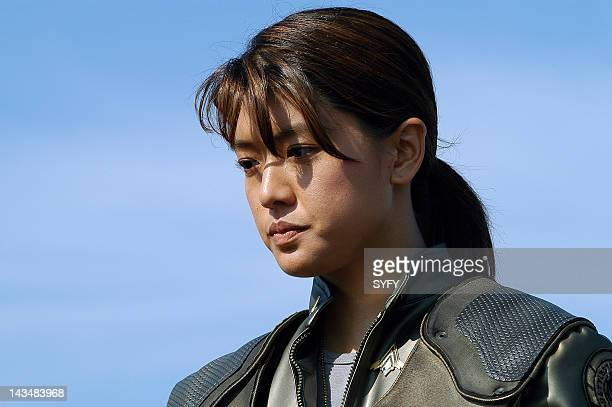 Channel 'Litmus' Episode 6 Aired 11/22/04 Pictured Grace Park as Lt Sharon 'Boomer' Valerii