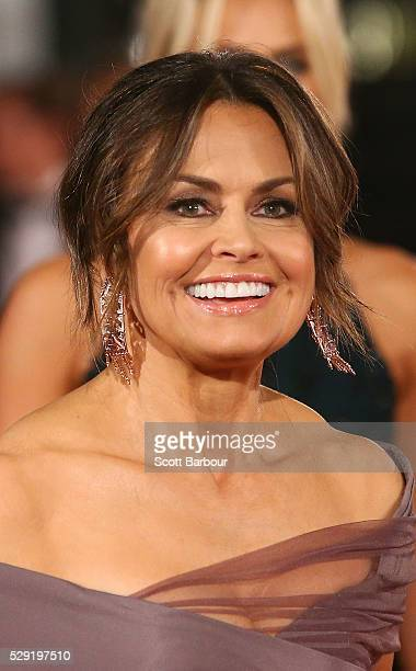 Channel Nine presenter Lisa Wilkinson arrives at the 58th Annual Logie Awards at Crown Palladium on May 8 2016 in Melbourne Australia