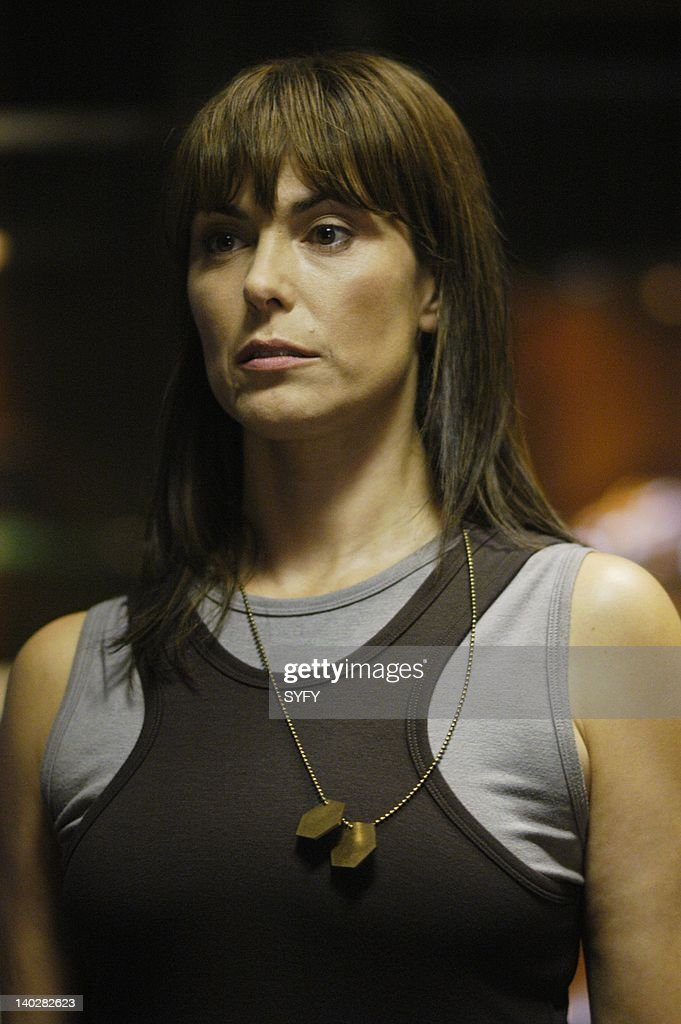Channel 'Resurrection Ship Part 1 2' Episode 11 12 Air Dates and Pictured Michelle Forbes as Admiral Helena Cain Photo by Carole Segal/SCI FI...
