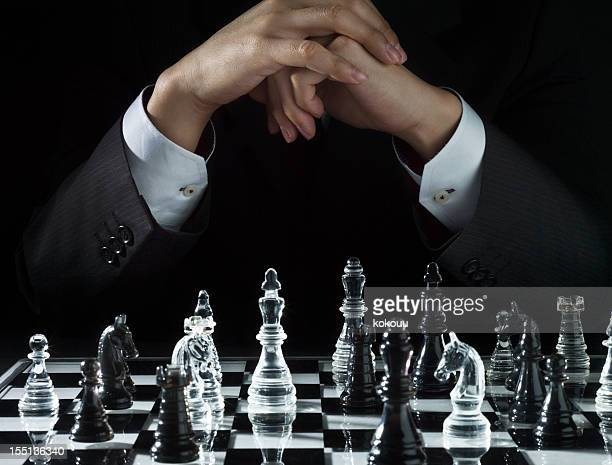 Channel strategy of chess