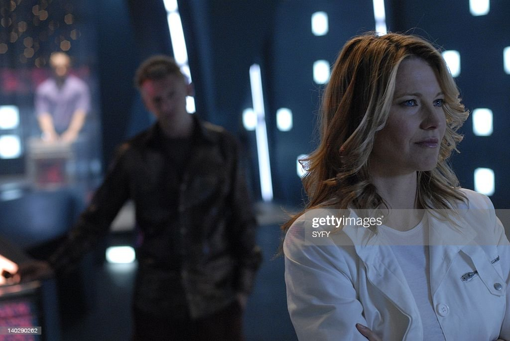 Channel -- 'Torn' Episode 6 -- Air Date -- Pictured: Lucy Lawless as D'Anna Biers (Cylon Number Three) -- Photo by: Carole Segal/SCI FI Channel/NBCUPB