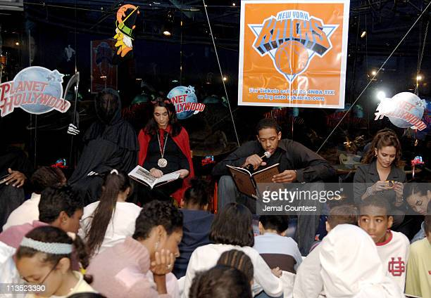 Channing Frye during New York Knicks 'TipOff' ReadtoAchieve Campaign with Halloween Bash for Kids at Planet Hollywood at Planet Hollywood in New York...