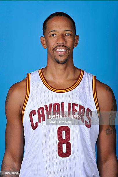 Channing Frye of the Cleveland Cavaliers poses for a headshot during the Cavaliers 20162017 Media Day at The Cleveland Clinic Courts on September 26...