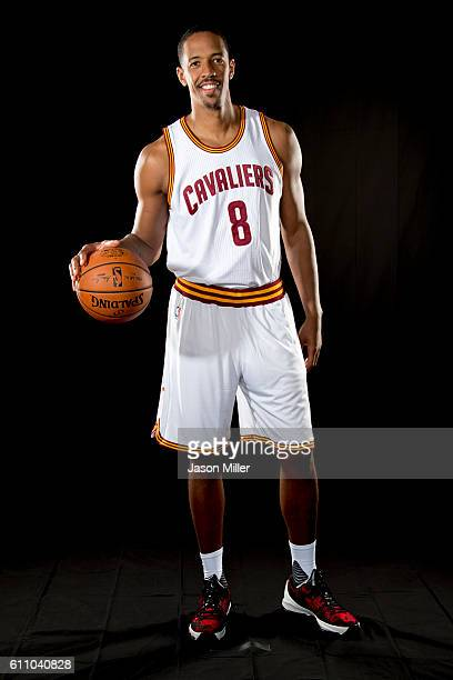 Channing Frye of the Cleveland Cavaliers poses for a portrait during media day at Cleveland Clinic Courts on September 26 2016 in Cleveland Ohio NOTE...