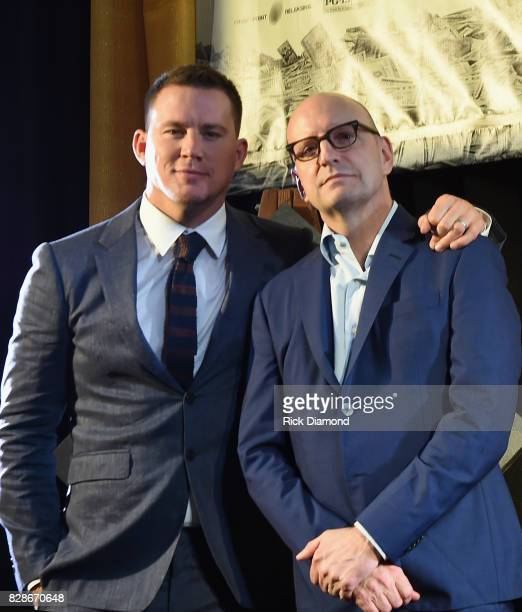 Channing Tatum and Director Steven Soderbergh attends 'Logan Lucky' Tennessee Benefit Screening For Variety The Children's Charity at Regal Pinnacle...