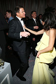 Channing Tatum and Jenna Dewan attend The Weinstein Company Netflix's 2015 Golden Globes After Party presented by FIJI Water Lexus Laura Mercier and...