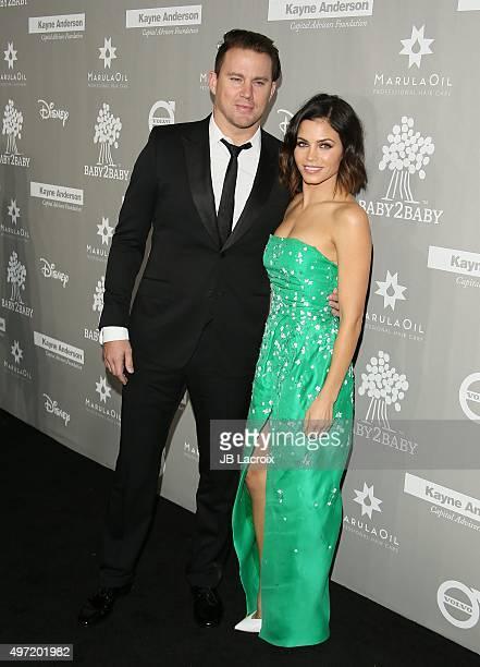 Channing Tatum and Jenna Dewan Tatum attend the 2015 Baby2Baby Gala presented by MarulaOil Kayne Capital Advisors Foundation honoring Kerry...