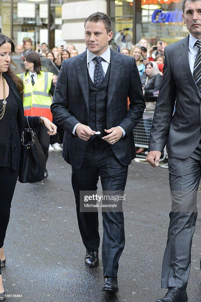 <a gi-track='captionPersonalityLinkClicked' href=/galleries/search?phrase=Channing+Tatum&family=editorial&specificpeople=549548 ng-click='$event.stopPropagation()'>Channing Tatum</a> arrives at the European Premiere of Magic Mike at The Mayfair Hotel on July 10, 2012 in London, England.