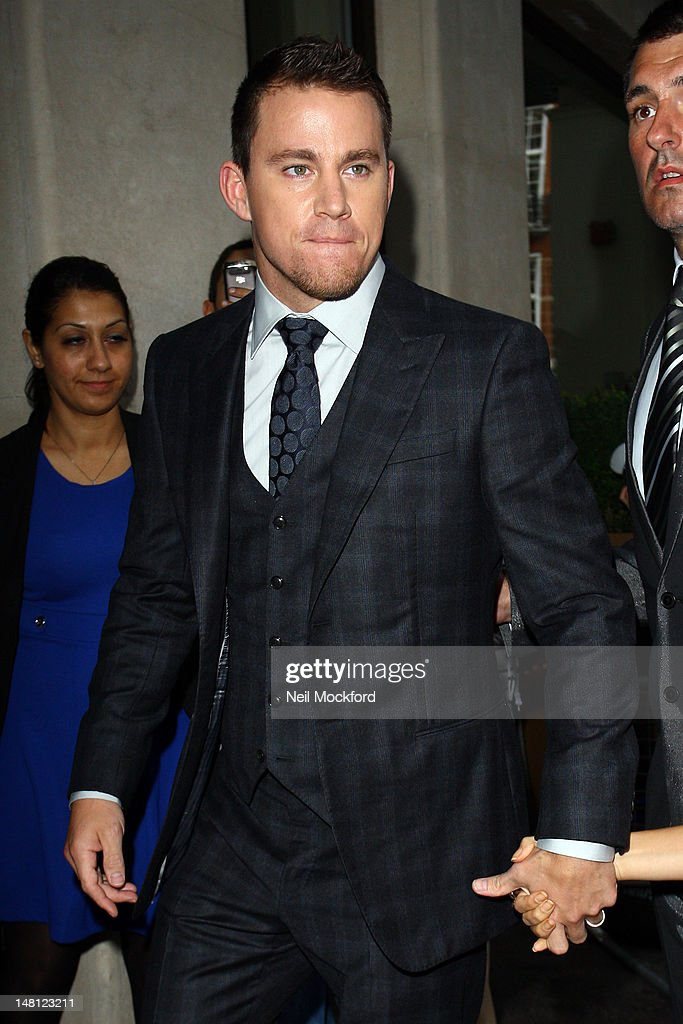 <a gi-track='captionPersonalityLinkClicked' href=/galleries/search?phrase=Channing+Tatum&family=editorial&specificpeople=549548 ng-click='$event.stopPropagation()'>Channing Tatum</a> arrives for the European Premiere of Magic Mike at The Mayfair Hotel on July 10, 2012 in London, England.