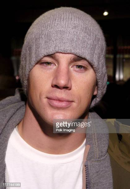 Channing Tatum at the Marquee Lounge during 2006 Sundance Film Festival Marquee Hospitality Lounge January 21 2006 at Harry O's in Park City Utah...