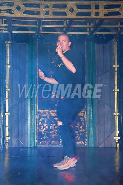 Channing Tatum attends a VIP...