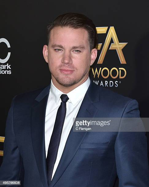 Channing Tatum attends the 19th Annual Hollywood Film Awards at The Beverly Hilton Hotel on November 1 2015 in Beverly Hills California