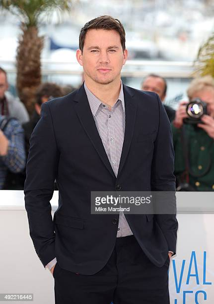 Channing Tatum attends the 'Foxcatcher' photocall at the 67th Annual Cannes Film Festival on May 19 2014 in Cannes France