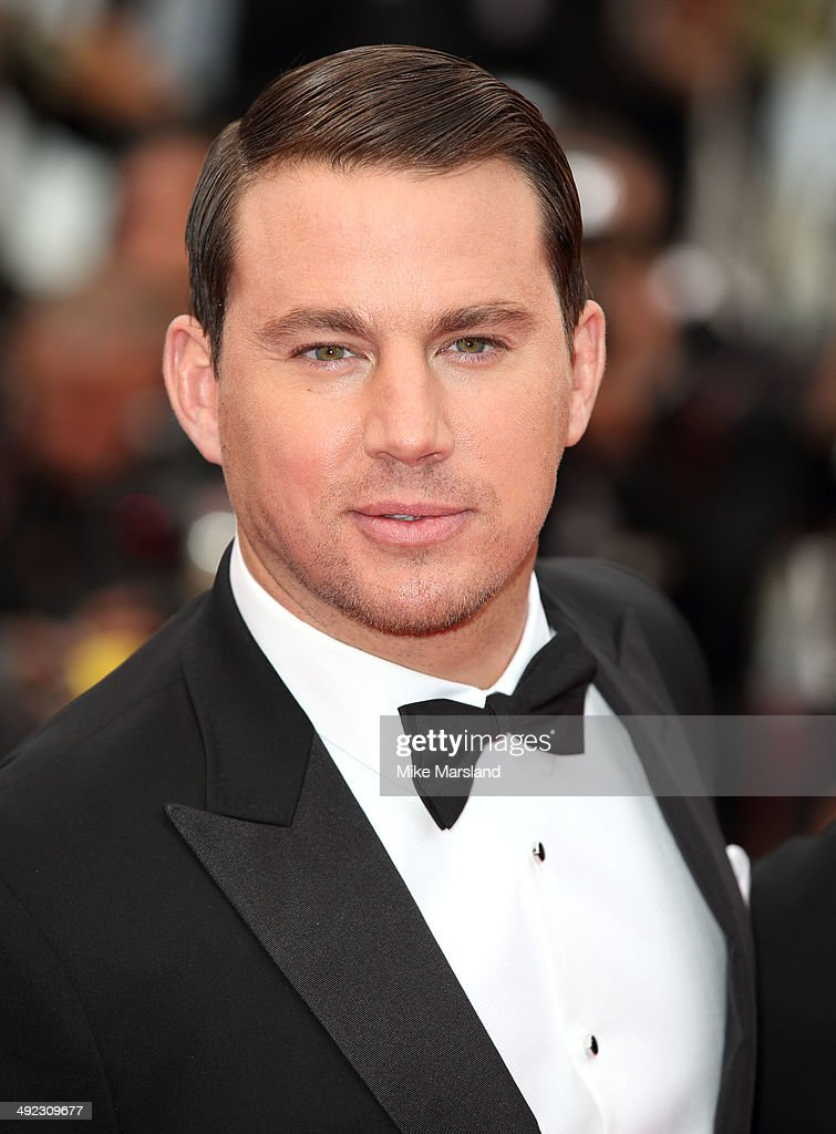 <a gi-track='captionPersonalityLinkClicked' href=/galleries/search?phrase=Channing+Tatum&family=editorial&specificpeople=549548 ng-click='$event.stopPropagation()'>Channing Tatum</a> attends the 'Foxcatcher' Premiere at the 67th Annual Cannes Film Festival on May 19, 2014 in Cannes, France.